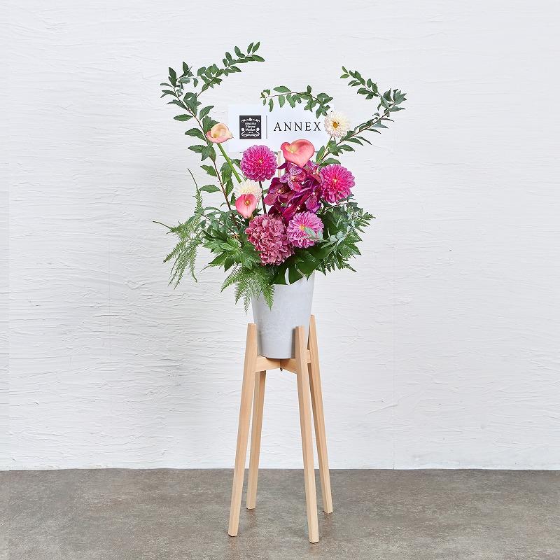 ヒノキスタンド 花#1