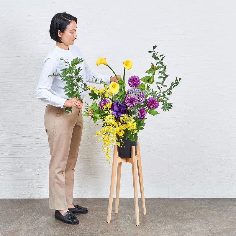 ヒノキスタンド花 #2
