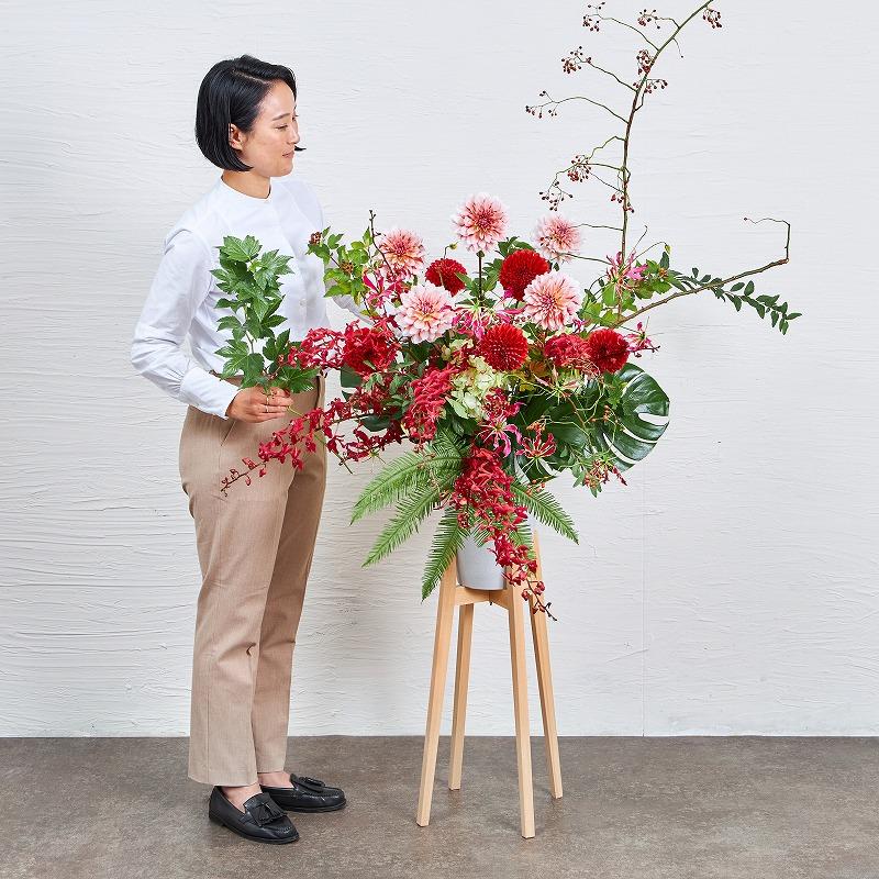 ヒノキスタンド花