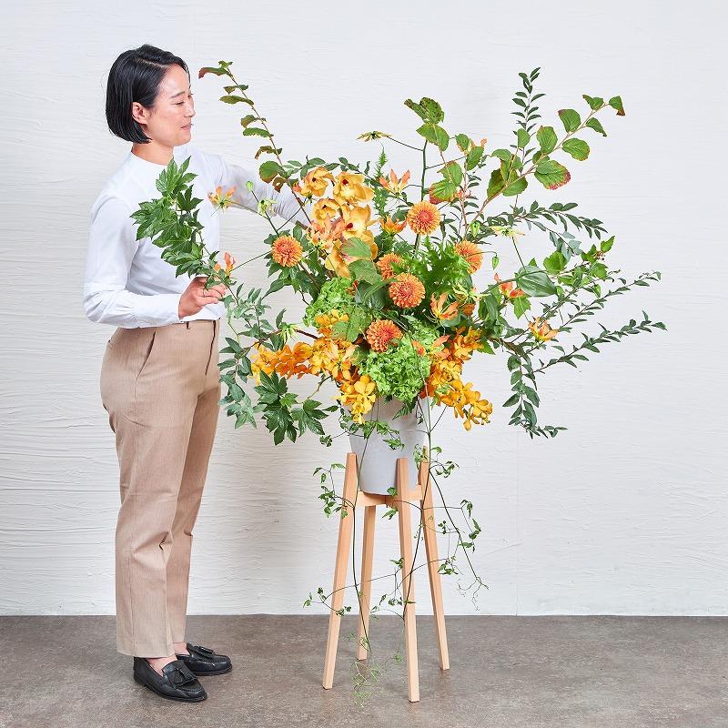 ヒノキスタンド 花#4