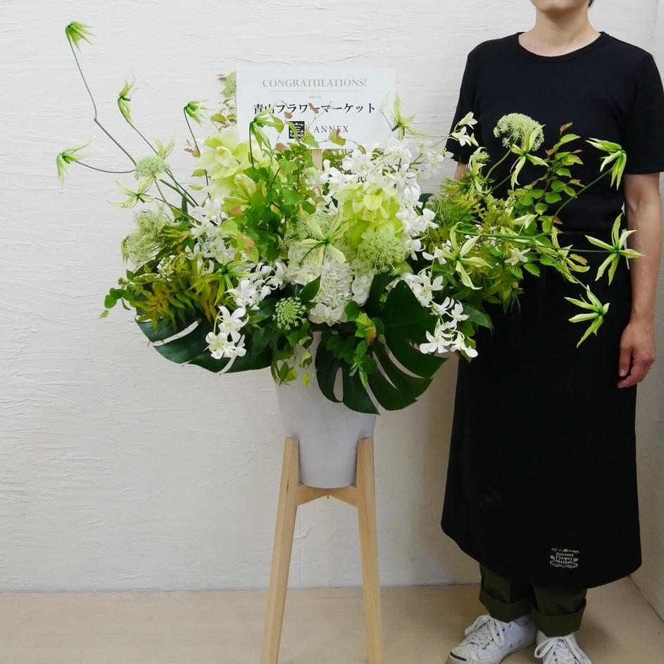ヒノキスタンド花_404